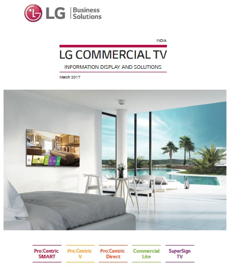 Commercial TV catalogue 2017