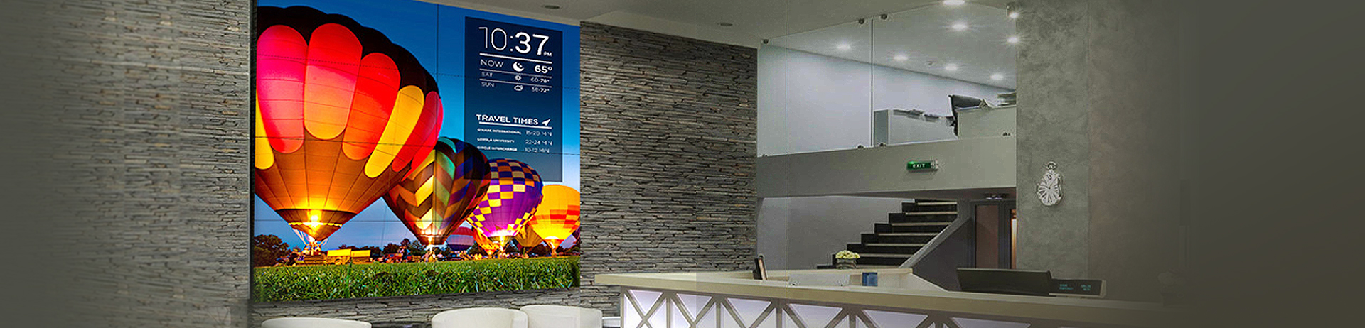 Introducing the Industry's Narrowest-Bezel Video Wall Display