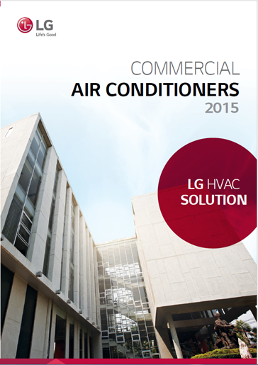 LG Commercial Air Conditioners 2015 Europe Catalogue