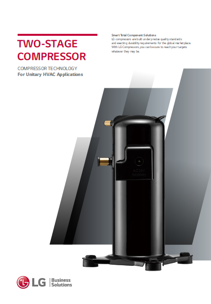 LG Twe-Stage Scroll Compressor